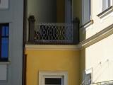Obnovené zábradlí balkónu
