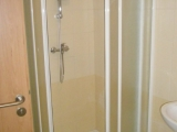 Koupelna bytu - sprcha