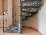 Točité schodiště detail 1
